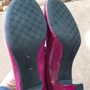 Franco Sarto Shoes - Brand new Franco Sarto leather heel shoes